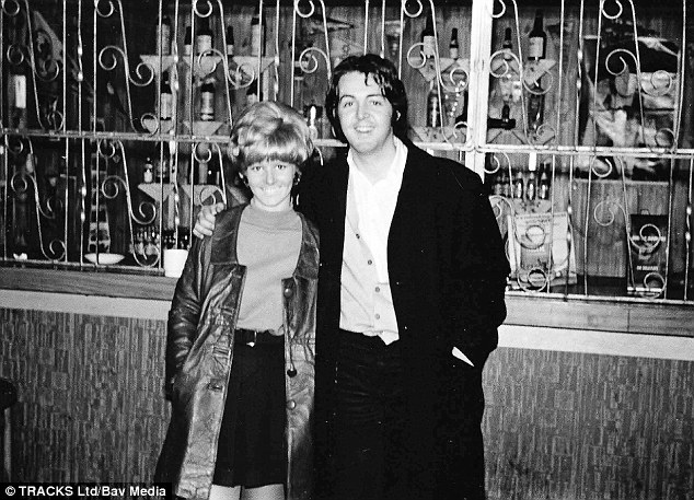 Debbie with Paul McCartney