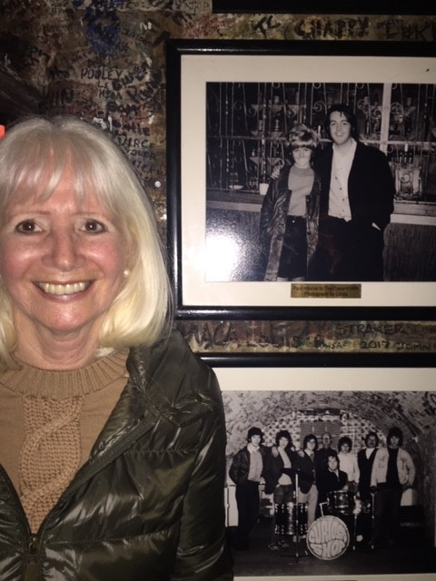 Debbie at the Cavern