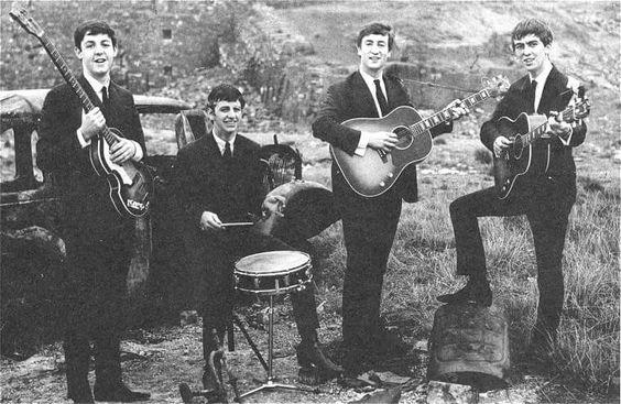 Ringo with the Beatles