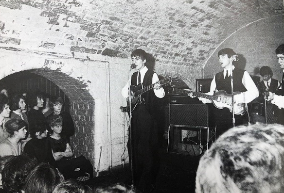 The Beatles at the Cavern