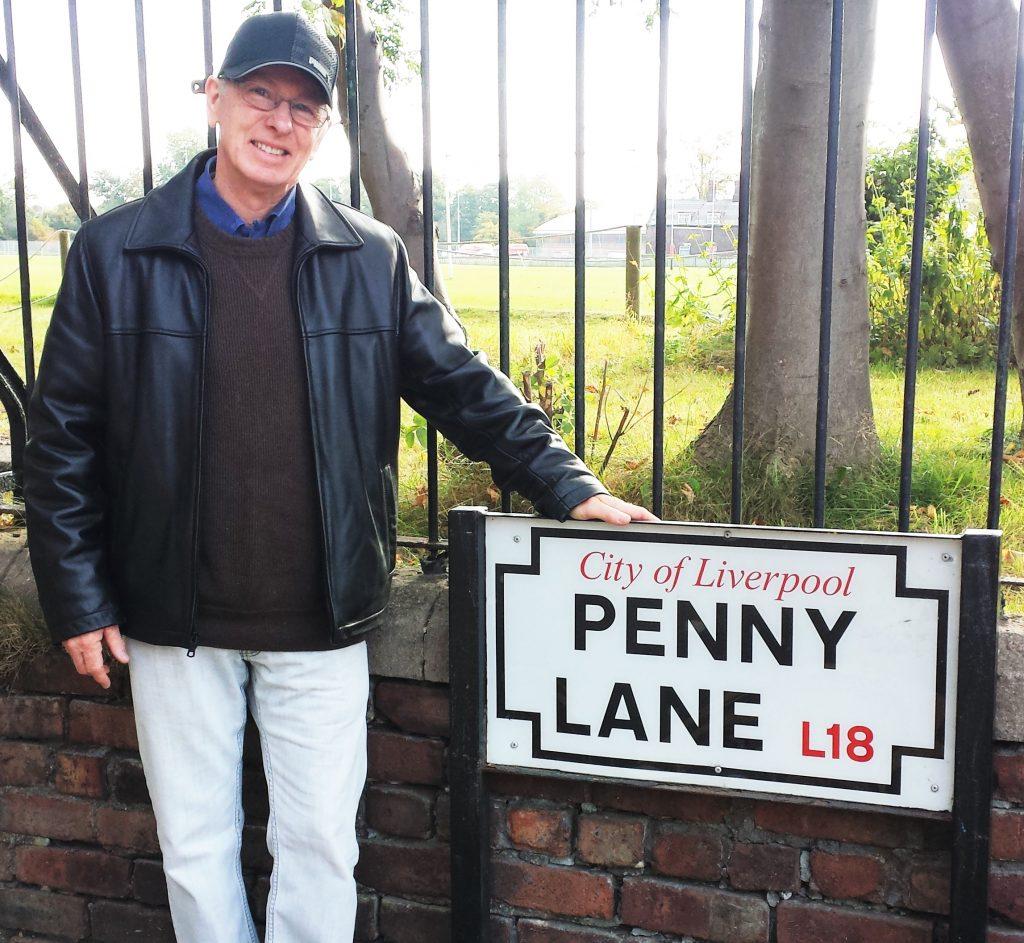 Mark Brickley at Penny Lane