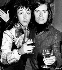 Paul and Mike McCartney