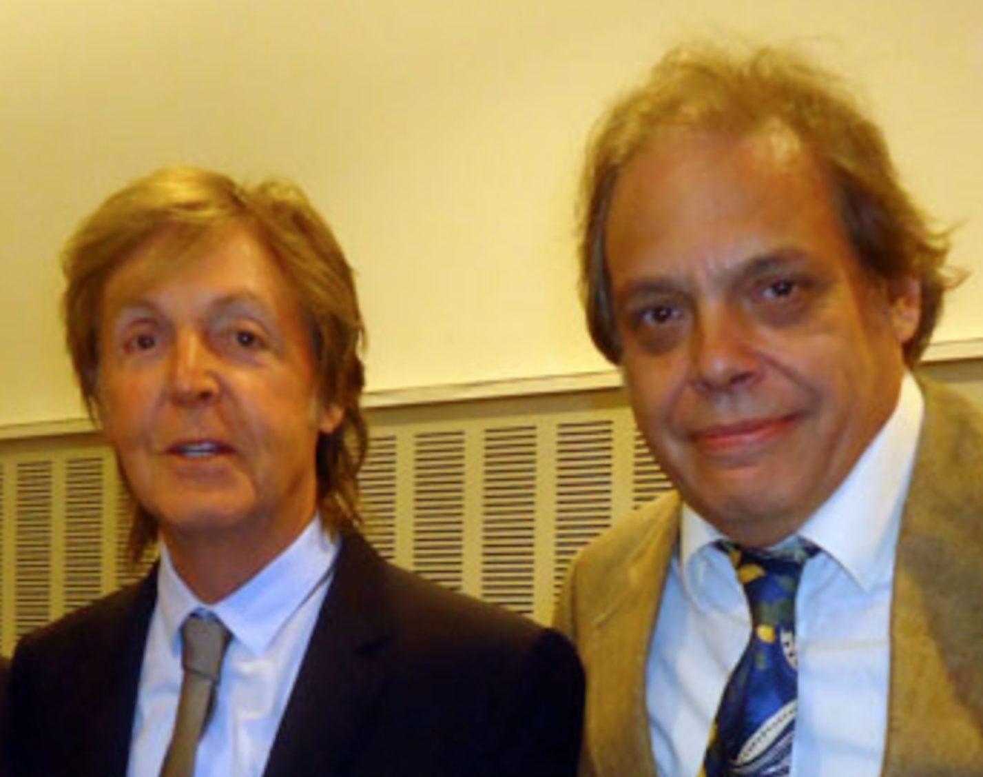 Paul McCartney and David Stark