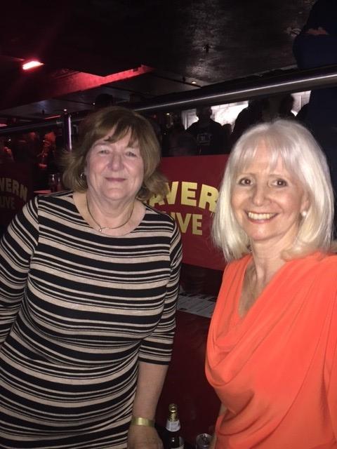 Freda Kelly with Debbie Greenberg