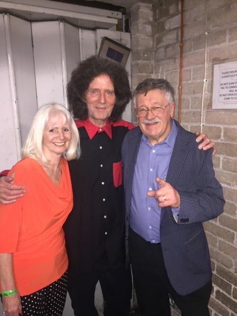Debbie Greenberg, Gilbert O'Sullivan and Nigel Greenberg