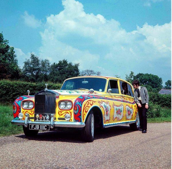 John Lennon's Psychedelic Rolls Royce