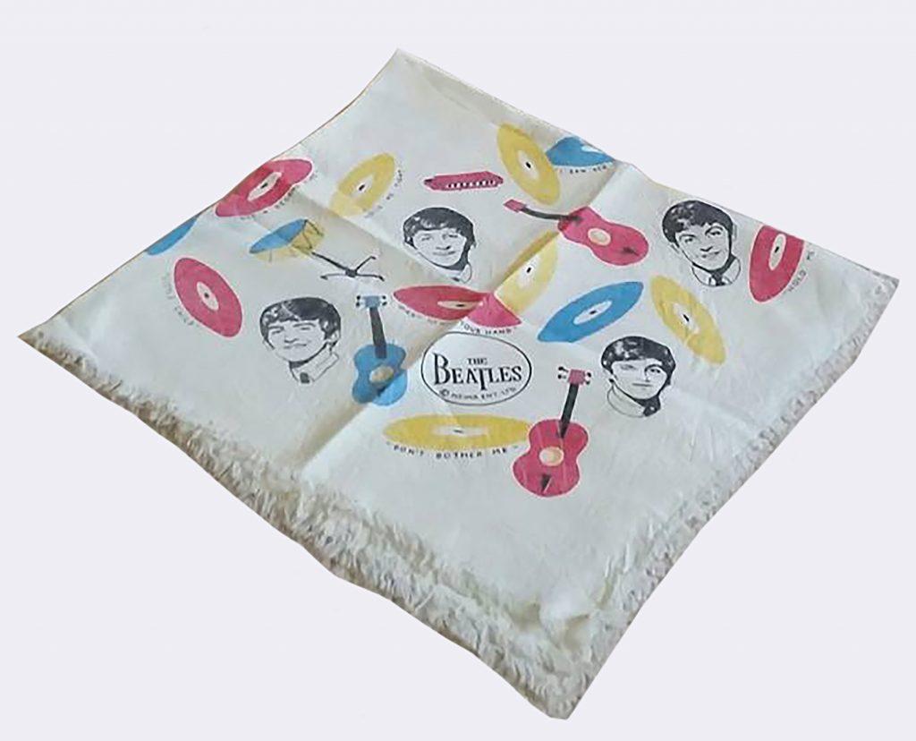 Beatles Square Silk Scarf