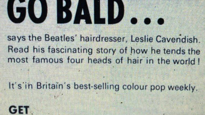 Lennon Could Go Bald