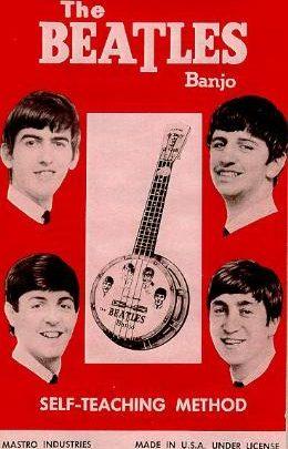 The Beatles banjo