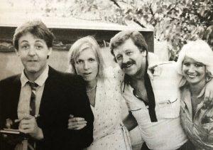 Paul, Linda, Nigel and Debbie
