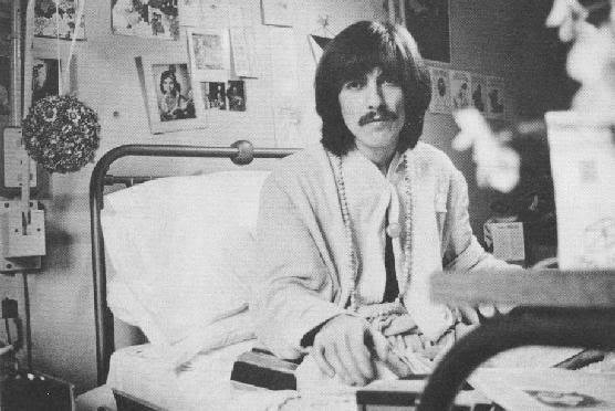 george Harrison in Hospital