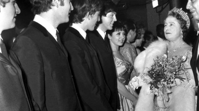 The Beatles at the Prince of Wales Theatre