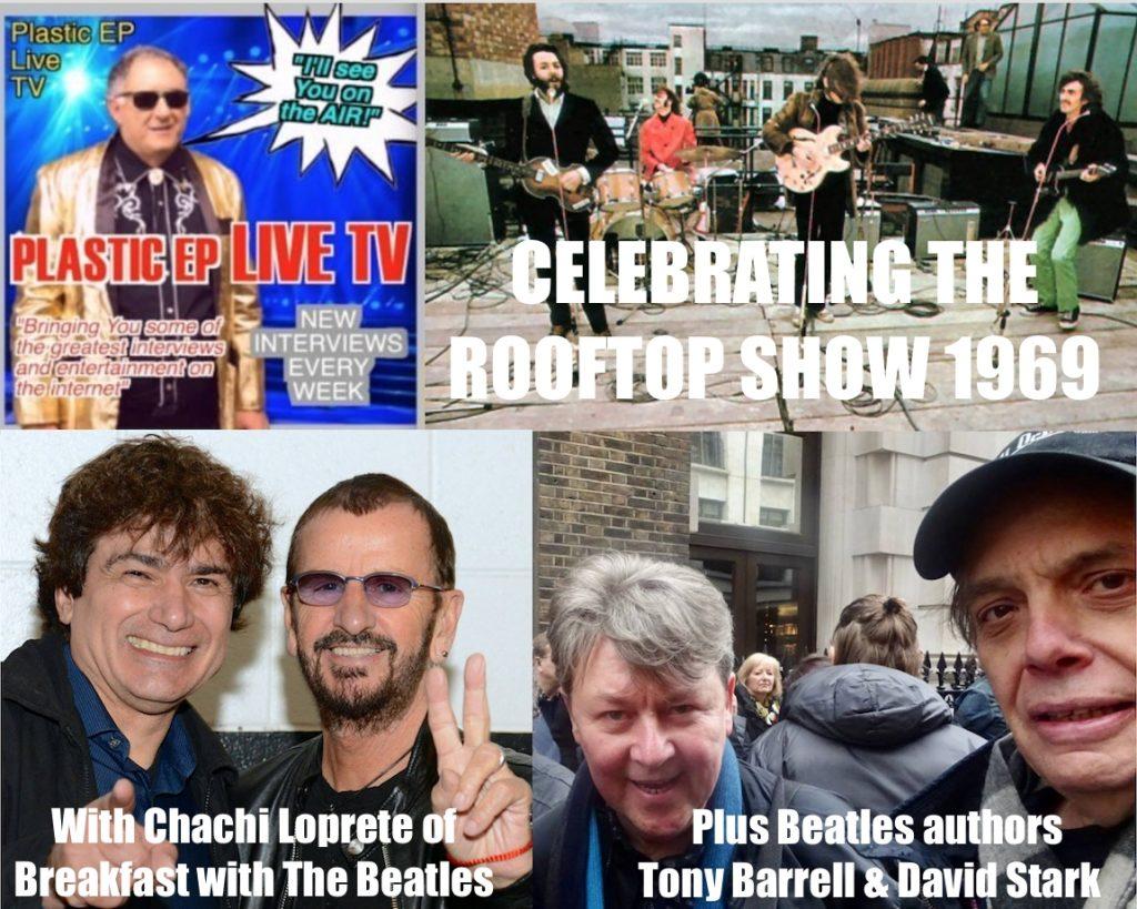 David Stark celebrates The Beatles iconic rooftop concert
