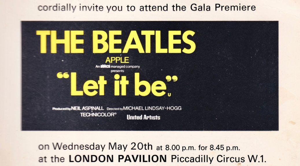 Let it Be Invite