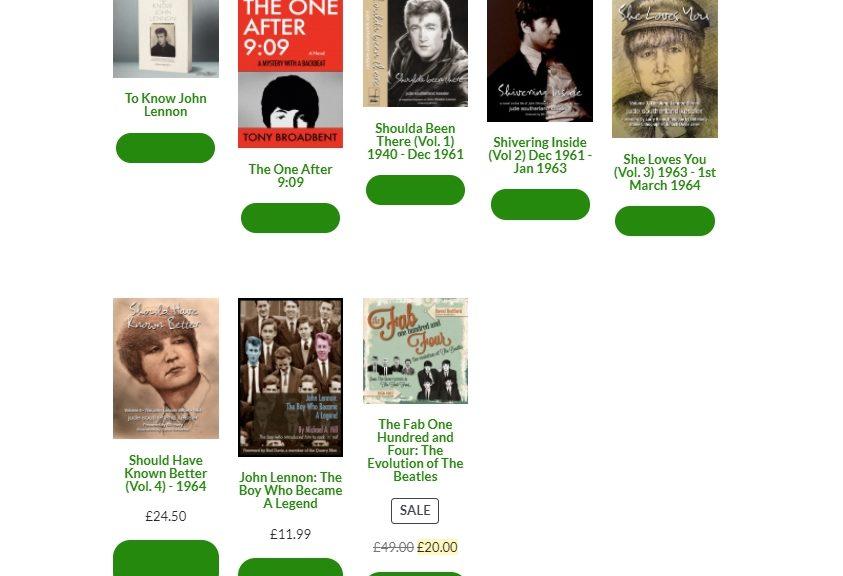 Books on John Lennon