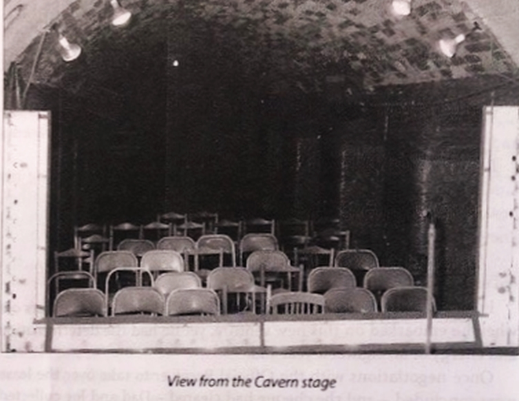 The View from the Cavern Stage