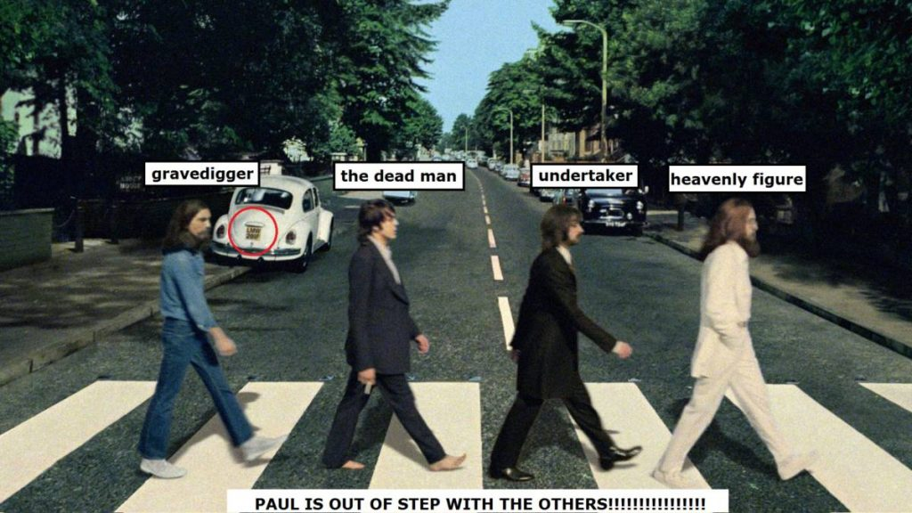 A Clue to the Paul is Dead Mystery