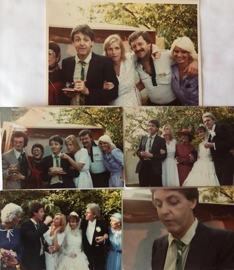 Paul McCartney at Mike McCartney's Wedding