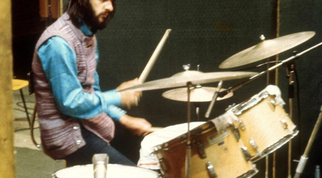 Ringo at the BB King Sessions in London, 1970